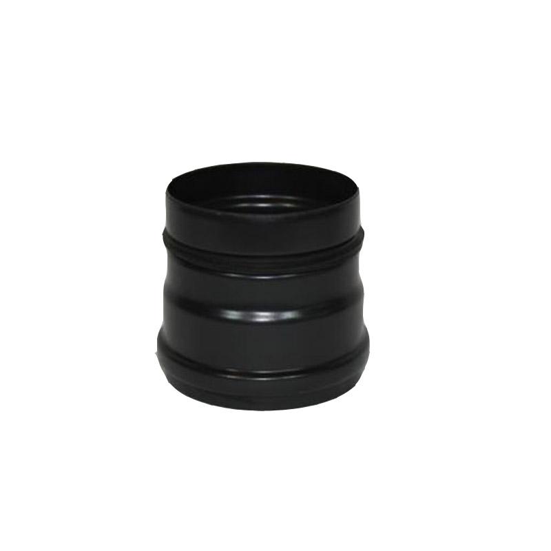 Pellet-Rosette gussgrau 100mm 0,6mm stark Ofenrohr Rauchrohr Pelletofen