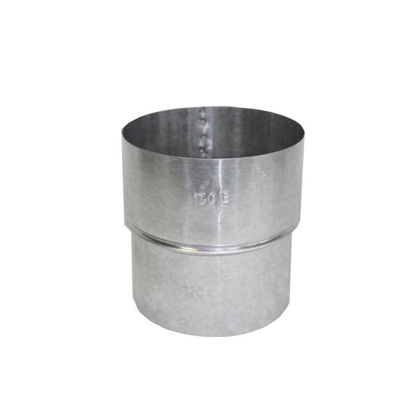 Erweiterung FAL 100-150 ø 0,6mm stark feueraluminiert Ofenrohr Kaminofen